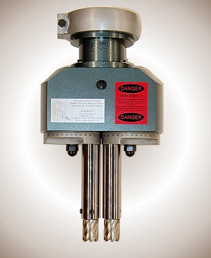Multiple Annular Cutter Head, dual annular drill head